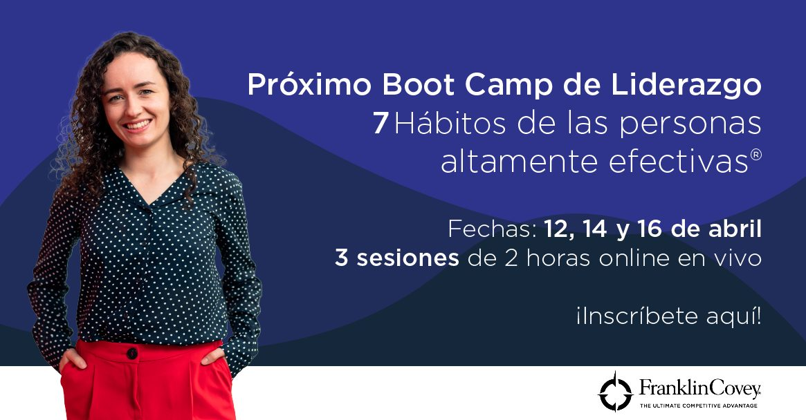 Boot Camp 7h abril Liderazgo Taller Abierto 7habitos